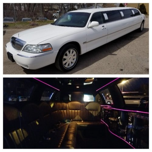 Our classic 10-passenger stretch limousine has all of the amenities. It is ideal for weddings, proms, bachelorette parties, and exciting nights out.